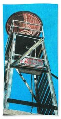 Water Tower Beach Towel