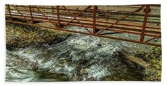 Water Under The Bridge Beach Towel