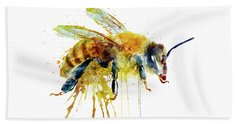 Watercolor Bee Beach Sheet