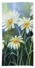 Daisies Flowers  Beach Towel