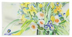 Watercolor Series 143 Beach Towel