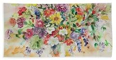 Watercolor Series 33 Beach Sheet