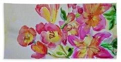 Watercolor Series No. 225 Beach Sheet