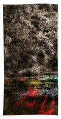 Beach Towel featuring the photograph Watercolors by Lauren Radke
