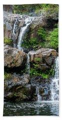 Waterfall Series Beach Towel