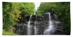 Waterfall - Amicalola Falls, Georgia, Usa Beach Towel