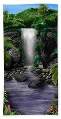 Waterfall Creek Beach Towel