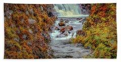 Waterfall #g8 Beach Towel