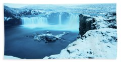 Waterfall Of The Gods Beach Towel