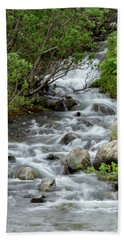 Waterfall Picture - Alaska Beach Towel