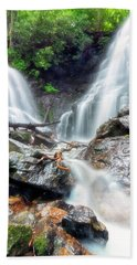 Waterfall Silence Beach Towel