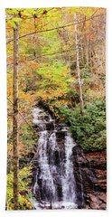 Waterfall Waters Beach Towel