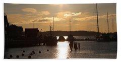 Waterfront, Oslo Fjords, Norway.  Beach Towel