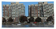 Waterfront Property Beach Towel
