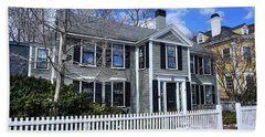 Waterhouse House In Cambridge Beach Towel