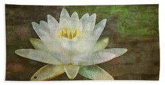Beach Sheet featuring the photograph Waterlily Dream by Joy Nichols