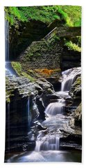 Watkins Rainbow Falls Beach Towel