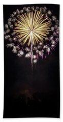Waukesha Fireworks 03 Beach Towel