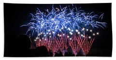Waukesha Fireworks 04 Beach Towel