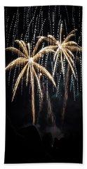 Waukesha Fireworks 05 Beach Towel