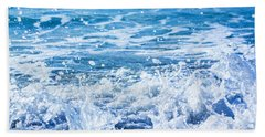 Beach Towel featuring the photograph Wave 3 by Randy Bayne