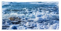 Beach Towel featuring the photograph Wave 4 by Randy Bayne