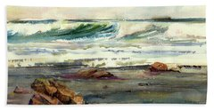 Wave Action Beach Towel