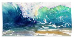 Wave Color Beach Towel