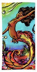 Wave Dancer  Beach Towel