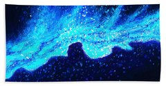 Wave Nebula Beach Towel