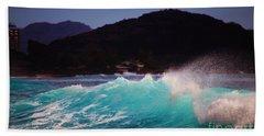 Wave Of Fantasy Beach Towel