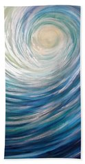 Wave Of Light Beach Towel