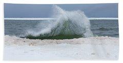 Wave Of Texture Beach Towel