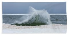 Wave Of Texture Beach Towel