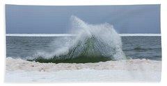 Wave Of Texture Beach Sheet