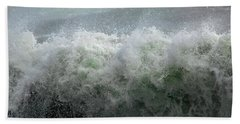 Wave On A Mission Beach Towel