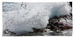Wave Smash Beach Sheet