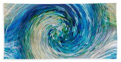 Wave To Van Gogh II Beach Towel