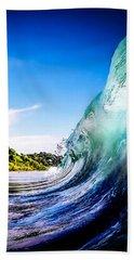 Waves Photographs Beach Towels