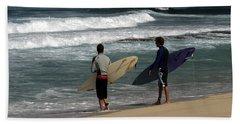 Wave Watch Beach Towel