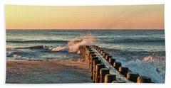 Waves Against The Groin - Holgate Beach Sheet