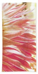 Beach Towel featuring the digital art Waves Of Petals by Steve Taylor