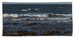 Waves Rolling Ashore Beach Sheet