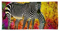 Way Out Of Africa Beach Towel
