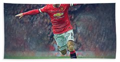 Wayne Rooney Beach Sheet by Semih Yurdabak