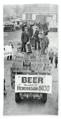We Have Beer - Prohibition Ends - Cleveland 1933 Beach Sheet