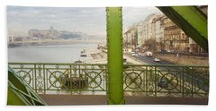 We Live In Budapest #4 Beach Towel