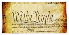 We The People Beach Towel