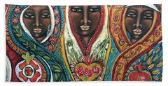 We Three Queens Of Orient Are Beach Towel