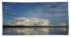 Weather From Tampa Bay 871 Beach Towel